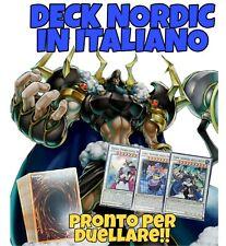 Yu-Gi-Oh! Deck NORDIC - Mazzo Completo 40 carte - ITALIANO + EXTRA DECK