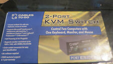 Port Authority CABLES TO GO 2-PORT USB KVM SWITCH