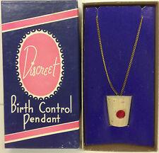 Birth Control Pendent Discreet Funny Joke Gag Birthday Gift