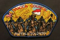 BSA YUCCA COUNCIL TX GILA OA LODGE 378 PATCH FLAP US ARMY BUFFALO SOLDIERS CSP