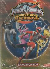 POWER RANGERS OPERATION OVERDRIVE LAMINCARDS ALBUM CARD COLLECTOR  VUOTO/EMPTY