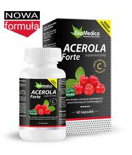 Vitamina C Extracto Acerola Forte 550mg 60 Natural Cápsulas