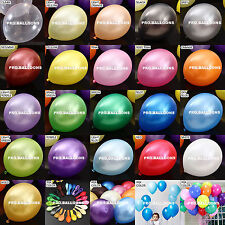 Balloons Party Latex 12 lnch Wedding Birthday Quality Pearl Colours