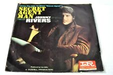 New listing SECRET AGENT MAN BY JOHNNY RIVERS ON 45 RPM IMPERIAL RECORDS P/S