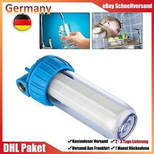 3/4 Zoll Pumpen Wasserfilter 5000 L/h Vorfilter Brunnen Pumpenfilter Filter DHL
