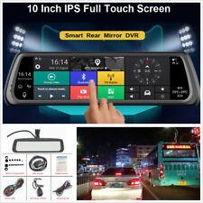"10"" HD IPS Special 4G Car DVR Dual Camera GPS Bluetooth WIFI ADAS Video Recorder"