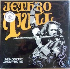 JETHRO TULL LP VINYL - live in concert - NUMBERED LIMITED EDITION