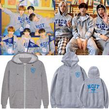 Kpop NCT 127 NCIT NEO CULTURE Zipper Pullover Hoodie Sweatshirt Coat Cotton New