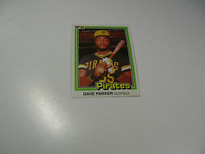 Dave Parker 1981 Donruss card #136