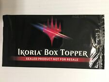 MTG Magic Ikoria Lair Behemoths Booster box Topper English SEALED