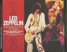 LED ZEPPELIN - Rare Import 3 CD Set from Japan - Best Live in Los Angeles 1977