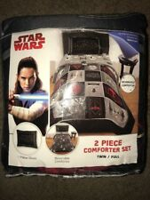 Star Wars Episode 8 The Last Jedi' Twin/Full Comforter Set W/Sham Kira Bedding