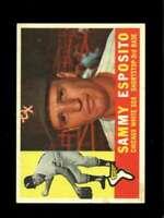 1960 TOPPS #31 SAMMY ESPOSITO EXMT WHITE SOX  *SBA0606