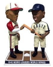 1942 Negro League World Series Satchel Paige & Josh Gibson Bobblehead H.O.F.