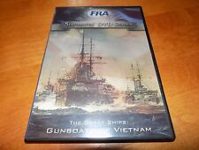 GREAT SHIPS GUNBOATS OF VIETNAM War Riverine Boats Boat History Channel FRA DVD