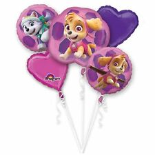 Paw Patrol Pink Skye & Everest Balloon Bouquets Birthday Party Decorations