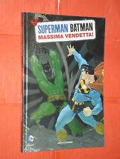 SUPERMAN BATMAN -MONDADORI- N°4-massima vendetta-ANCORA SIGILLATO -EDIZIONI-LION
