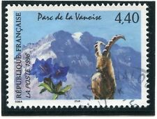 TIMBRE FRANCE OBLITERE N° 2998 FAUNE / BOUQUETIN /