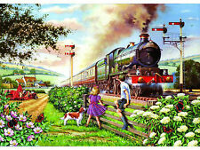 The House Of Puzzles - 500 BIG PIECE JIGSAW PUZZLE - Railway Children Big Pieces