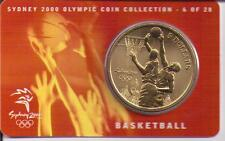 2000 $5 RAM UNC Coin Sydney Olympics- NO OUTER COVER - 6 of 28 (Basketball)
