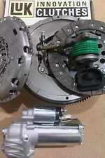 FORD MONDEO 2.0 TDCI 6 SP SINGLE MASS FLYWHEEL UPGRADE LUK CLUTCH, CSC, STARTER