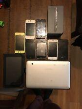 Apple iPhone 5 4 3 Bulk Lot 2 Tablets Parts Repair