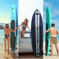 10/11FT Inflatable Stand Up Paddle Board Portable All Levels SUP Wavebreak US