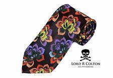 Lord R Colton Masterworks Tie - Bark New Born Woven Silk Necktie - $195 New