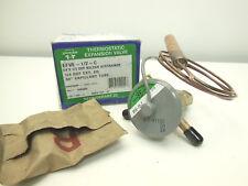 "Sporlan EFVE-1/2-C thermostatic expansion valve 1/4 X 1/2 odf 30"" capillary"