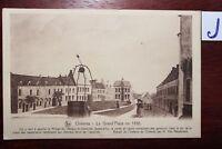Postkarte Ansichtskarte Frankreich Chievres La Grand Place