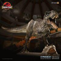 Jurassic Park Art Scale Statue 1/10 T-Rex 44 cm Tyrannosaurus Rex Iron Studios