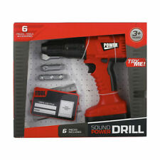 Power Tool Kids Pretend Play Realistic Looking & Working Electroni Drill Toys FF