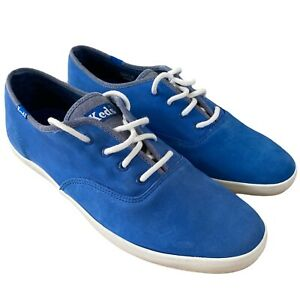 Keds Champion Oxford CVO in Blue / White Size 9