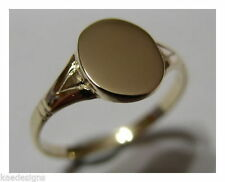 Yellow Signet Fine Rings