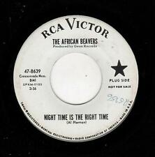 POPCORN/R & B-AFRICAN BEAVERS-NIGHT TIME IS THE RIGHT TIME/YOU GOT SOMETHING-RCA