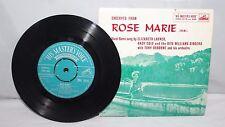 """7"""" EP - Excerpts from Rose Marie - Elizabeth Larner etc - HMV 7EG 8415 - 1958"""