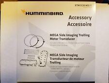 HUMMINBIRD XTM 9 20 MSI T MEGA TROLLING MOTOR TRANSDUCER-NEW IN BOX