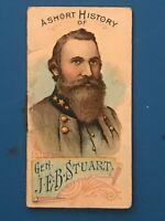 1889 N78 DUKE HISTORIES OF GENERALS BOOKLETS - GENERAL J.E.B. STUART