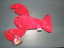 Ty Beanie Baby Rare Pinchers PVC Pellets 1993 Retired Brand New w/ Case
