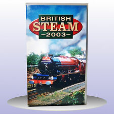 British Steam 2003 Trains East Lancs Crewe Railway - VHS PAL - NEW