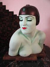 1920s METROPOLIS Fritz Lang ART DECO Brigitte Helm BABYLON BERLIN Bust SCULPTURE