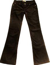 Pantalon Jean LEVIS 572 Boot cut  W30 L34 Taille 40 VELOURS marron évasé TBE