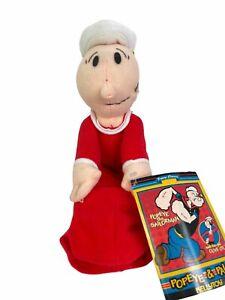 "2002 Popeye Classics Baby Swee' Pea 7"" Plush Popeye & Pals Kellytoy #4760S NWT!"