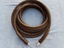 20 METER 2 WIRE 400 BAR 3/8 JETWASH HOSE PLEASE SEE QWASHERS YOUTUBE VIDEO LINK