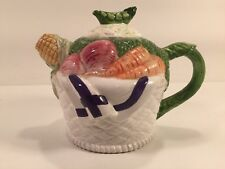 CKAO Teapot - Corn Eggplant Carrots Turnips - International Trading Company
