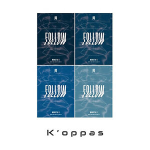 MONSTA X [ FOLLOW YOU - FIND YOU ] 7th Mini Album K-POP IDOL Music Cyber Monday