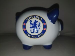 ⚽️ CHELSEA FOOTBALL CLUB Piggy Bank Money NEW