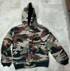 AWESOME VINTAGE WALLS BLIZZARD PRUF CAMO DUCK JACKET YOUTH SIZE LARGE 12-14 RARE
