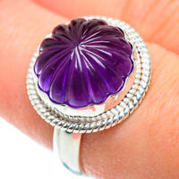 Amethyst 925 Sterling Silver Ring Size 8.25 Ana Co Jewelry R52227F