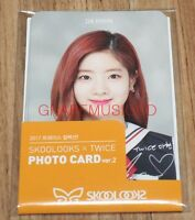 TWICE SKOOLOOKS X TWICE OFFICIAL GOODS PHOTOCARD PHOTO CARD Ver.2 SET NEW